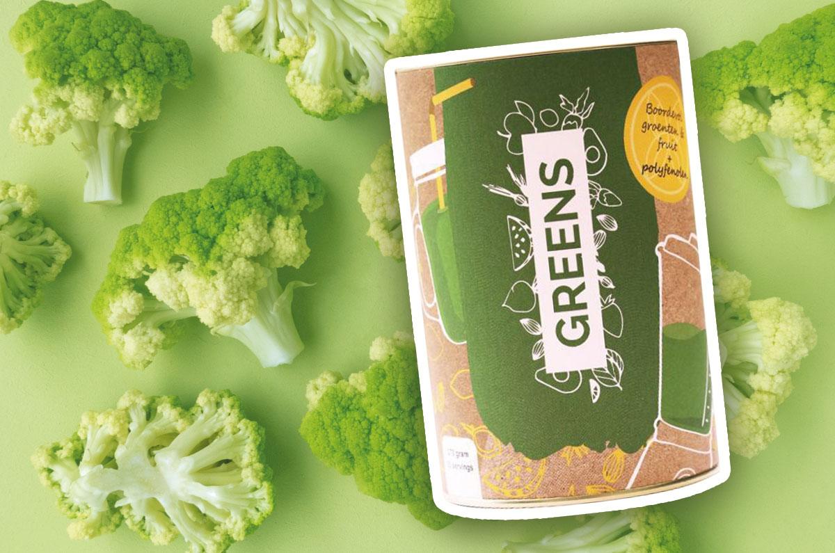 Marieke's Gezond Verstand Supplementen Greens